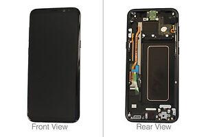 Genuine Samsung Galaxy S8+ SM-G955 Black LCD Screen & Digitizer - GH97-20470A