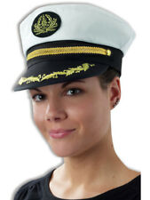 Swirl Trim Yacht Boat Captain Sailing Fishing Hat Cap
