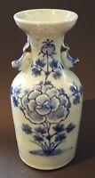 Chinese export celadon glaze vintage pre Victorian oriental antique vase
