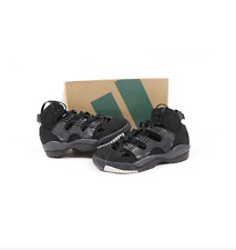 NOS Vintage 90s Adidas EQT Basket Boot Spell Out Basketball Shoes Black Mens 12