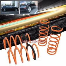 "Orange 1.5"" Drop Megan Racing Sport Lowering Spring Coil For Mazda 04-09 Mazda3"