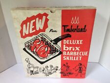 Vintage Timberland Deluxe Brix  BBQ Stove Skillet Camping RV Tiny House