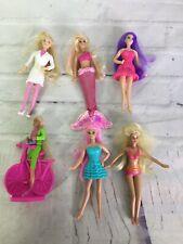 Mattel Barbie Mini Dolls Mixed Lot of 6 Mcdonalds Happy Meal Toys Figures