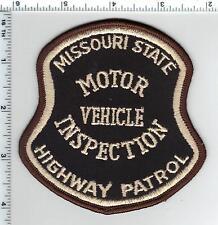 Highway Patrol Motor Vehilce Inspection(Missouri) Shoulder Patch from the 1980's
