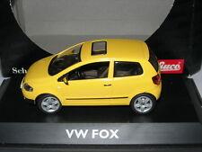 Schuco 1:43 04722 VW Fox Yellow NEW