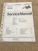Philips Chassis CTX-S Service Manual Schematic Diagram  ( Copy ) For Television