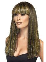 Wig Smiffy/'s 90/'s Rocker Rock Kit Glasses /& Bandana 90s 80s Fancy Dress Party