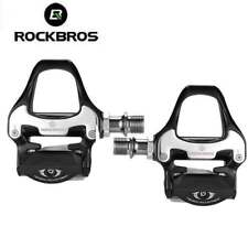 Rockbros Bicycle Pedals For SPD-SL System Bike Self-locking Pedals UK STOCK