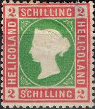 Heligoland Queen Victoria rare classic stamp 1869 MH