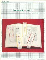BOOKMARKS VOL.1  - CROSS STITCH BOOKMARK LEAFLET #106