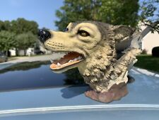 Wolves Realistic statue sculpture figure Good Condition