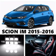 11pcs LED Xenon White Light Interior Package Kit for SCION iM 2015-2016