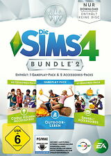 Die Sims 4: Bundle Pack 2 (Download Code) (PC/Mac, 2015, DVD-Box)
