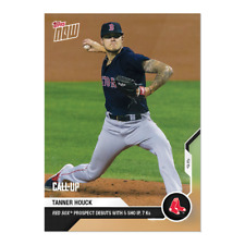 Tanner Houck - MLB TOPPS NOW Card 270 Red Sox Prospect Debut with 5 SHO IP, 7Ks