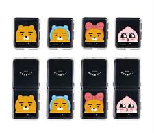 KAKAO FRIENDS PIKABOO Z-FLIP Clear Jell Hard Case For Samsung Galaxy Z Flip