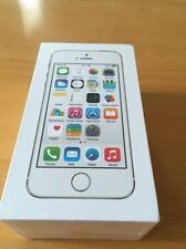 Apple iPhone 5s - 64GB - Gold (Unlocked) Sealed box, Warranty, Genuine UK Spec