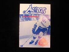 1976 Houston Aeros WHA Hockey Schedule