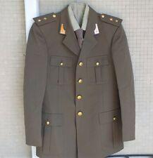 Giacca camicia cravatta drop E.I. Tenente Artiglieria del 1987 tg.52