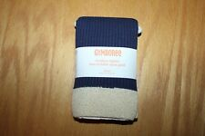 NWT Gymboree Flight of Fancy size 5/6 Navy Ribbed Footless Cotton Blend Tights