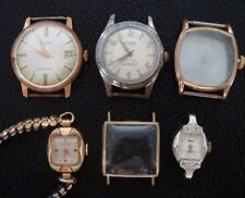 Two men's and two ladies' Wristwatches for parts or repair