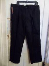 Docker's Pleated Navy Original Khaki w/ Classic Fit 38x31 No wrinkles NWT!