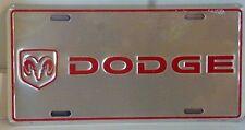 DODGE RAM LOGO LICENSE PLATE TRUCK CHALLENGER CHARGER MOPAR DURANGO VIPER DART