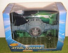 STAR WARS SAGA BLUE A NEW HOPE IMPERIAL DOGFIGHT TIE FIGHTER