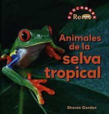 Animales de La Selva Tropical (Rebus Animals in the Wild) (Spanish Edition)