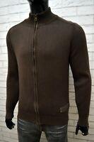 Maglione Cotone Uomo MARLBORO CLASSICS Taglia M Pullover Zip Cardigan Sweater