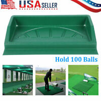 Large Golf Ball Tray ABS Golf Driving Range 100 Balls Trays Golfer Accessories