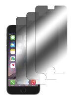 3 x Spiegelfolie iPhone 6 Plus / 6S Plus Displayschutzfolie Folie Mirror Screen