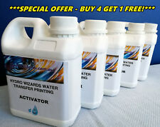Hydrographic Printing Dipping, Hydro graphic ACTIVATOR 5L - BUY 4 GET 1 FREE!!!