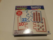 School Starters Numbers Puzzle Cards New in Box Easy Grip Pieces