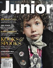 Junior Magazine Halloween Teats And Fashion Mini Master Chefs Blissful Morning