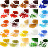 50g Solid Color Glass Seed Beads Round Transparent Loose Bead Tiny Beading 2~4mm
