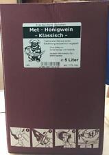 MET KLASISCHER HONIGWEIN LIEBLICHER GESCHMACK 5 L BAG IN BOX
