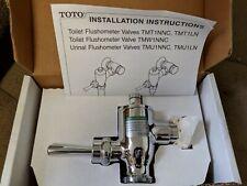 "Toto-TMU1LN#CP-Manual-Urinal-Flushometer-1-1/4""-Valve-Exposed-0.5-GPF- REDUCED!!"