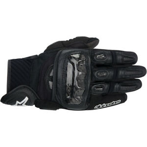 Alpinestars GP-Air Leather Motorcycle Gloves Black LG Large