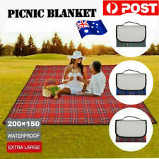 Portable Outdoor Camping Blanket Waterproof Mat Picnic Blanket Rug 200x150 cm