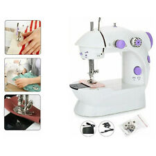 NEW MINI ELECTRIC PORTABLE SEWING MACHINE STITCH LIGHT TRAVEL CRAFT RECHARGE