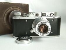 Leica-II (D) Berlin Olympics camera vintage Leitz Elmar 3.5/50 (FED Copy)№183497