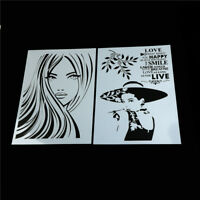 beauty layering stencils for walls painting scrapbooking stamping album decor Ew