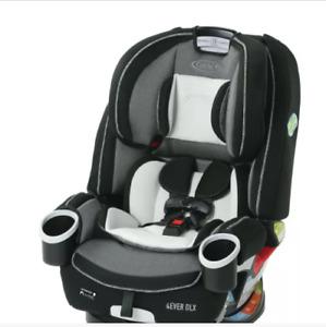 GRACO 4EVER DLX 4 IN 1 CONVERTIBLE CAR SEAT, FAIRMONT *DISTRESSED PKG*