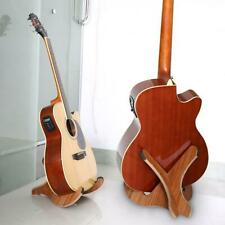 Portable Foldable Wooden Holder Stand for Folk Classical Acoustic Guitar Cello