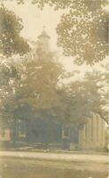 Church Clarence New York C-1910 RPPC Photo Postcard 20-3435