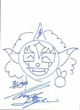 Jushin Liger Signed 11x14 Mask Sketch BAS COA New Japan Pro Wrestling WWE NJPW