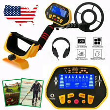Sensitive Waterproof Metal Detector Gold Finder Lcd Display Shovel Search Coil