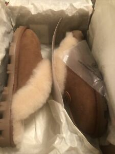 Women's UGG Chestnut Coquette Slippers- size 10