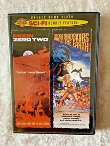 MOON ZERO TWO & WHEN DINOSAURS RULED THE EARTH SCI FI DOUBLE FEATURE DVD