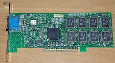 Rar STB Permedia II AGP 8mb RAM tarjeta gráfica AGP VGA f00016-001 Rev f g-16 AGP